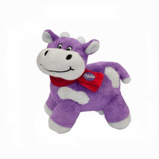 Milka Cow Walking Animal Custom Ce Soft Plush Children Toys