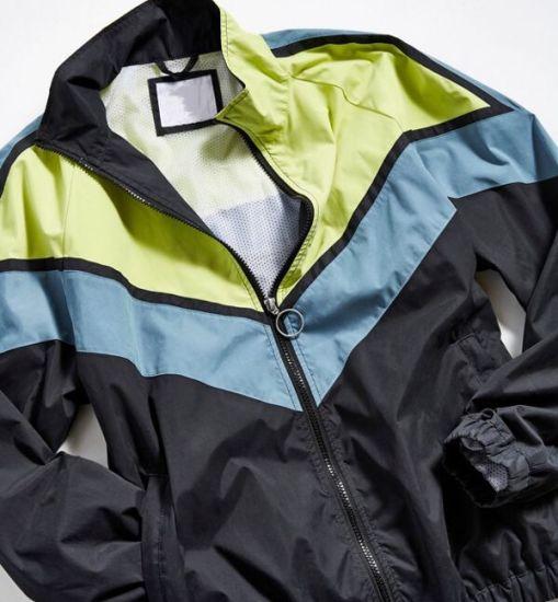 Wholesale Best Quality Black Jacket Zipper up Jacket for Men
