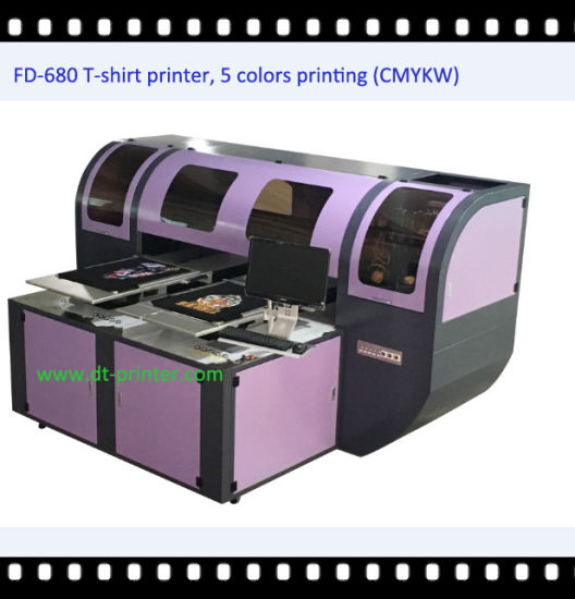Fd680 Digital Inkjet Printer for Piece Fabrics