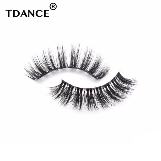 Premium Strip Lashes False Lashes Box Private Label Wholesale 3D Mink  Eyelashes
