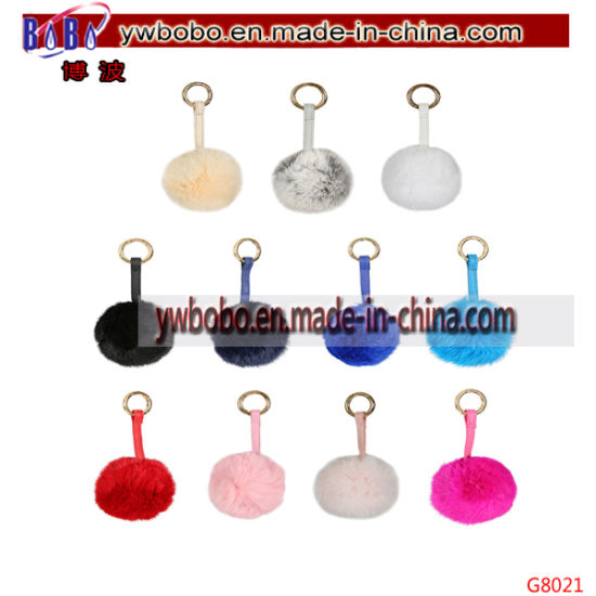 Promotion Items Promotion Keychain Fur Keyholder Advertising Gifts Holiday Gifts (G8023) pictures & photos