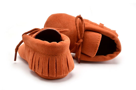 Wholesale Soft Soles Lace-UPS Baby Footwear Indoor Toddle Shoes pictures & photos
