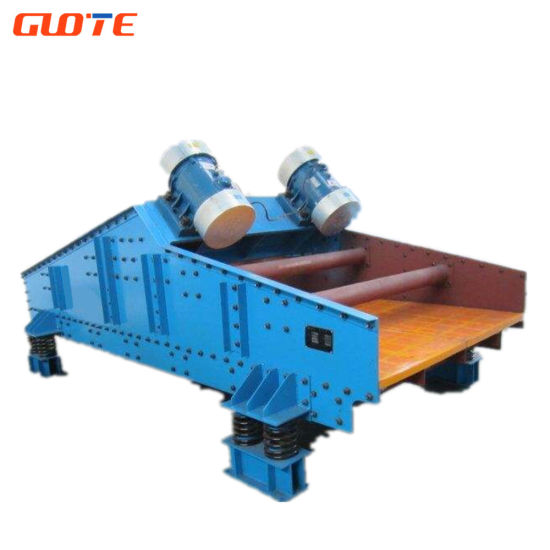Gtts Silica Sand Dewatering Vibrating Screen for Stone Crusher