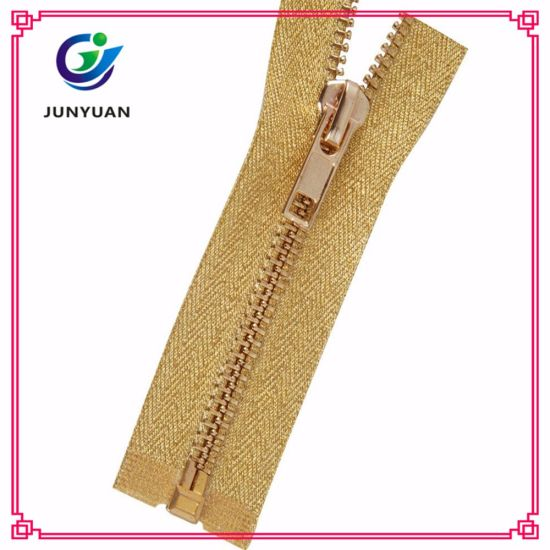 Anti-Brass Teeth Zipper for Bag Shoe