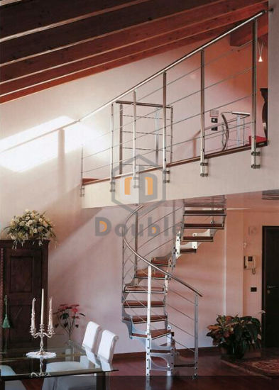 Staircase Manufacturers/Factory Metal Spiral Stairs /Cast Iron Used Spiral  Staircase