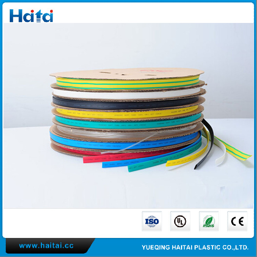 1: 2 Polylefin Heatshrink Tubing Shrinkable Low Smoke Halogen Free Cable Sleeving pictures & photos