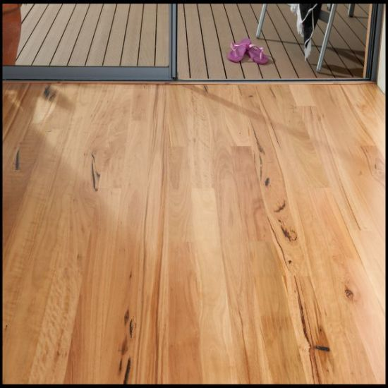 Australian Blackbutt Solid Hardwood Flooring pictures & photos
