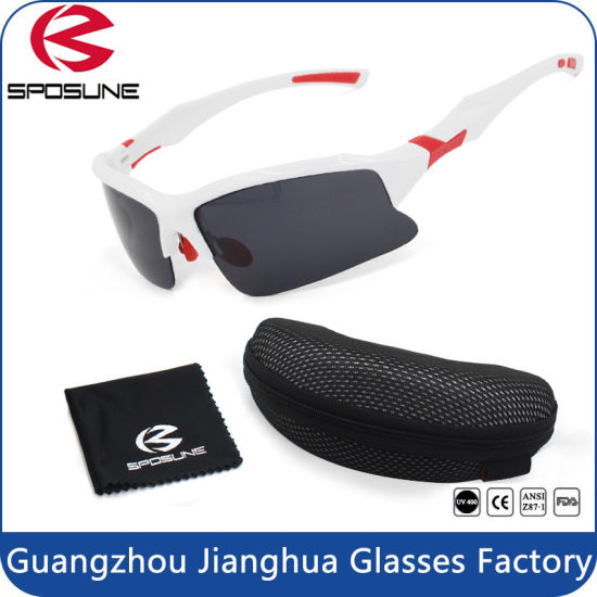 805cd7a4c24b High Impact UV400 Cat 3 Prescription Polarized Sunglasses Sports with Carry  Case pictures   photos