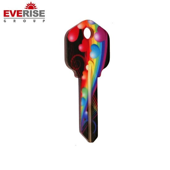 Hot Sale Custom Design Various Colors Promotional Garage Door Blank Keys