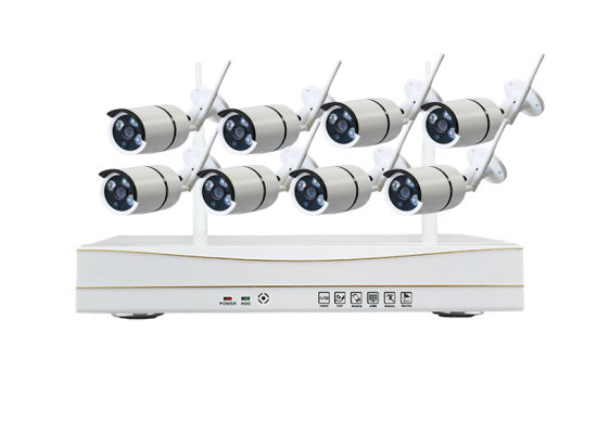 8CH 960p HD Wireless NVR Kit Outdoor IR Night Vision CCTV Surveillance System IP Camera WiFi Camera Home Security System Kit pictures & photos