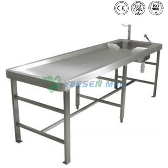 One-Stop Shopping Mortuary Morgue Autopsy Table pictures & photos