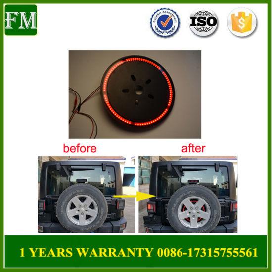 Jeep Wrangler Accessories 2017 >> 2007 2017 Spare Tire Brake Light For Jeep Wrangler Accessories
