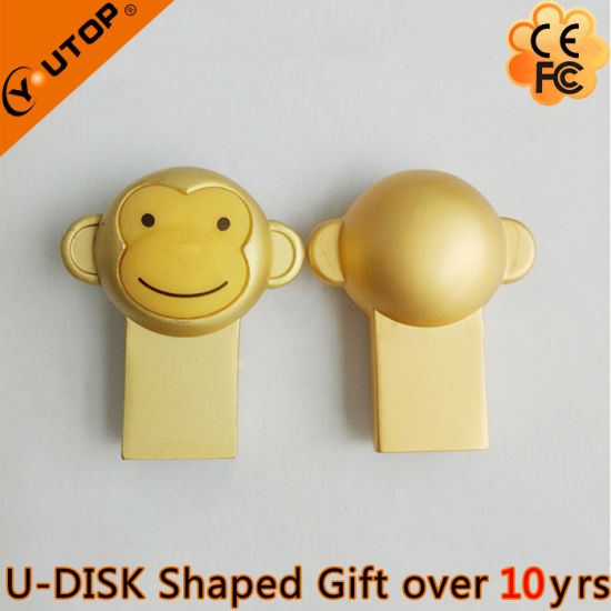 2016 New Gift Golden Monkey USB2.0/3.0 Flash Drive (YT-M3.0) pictures & photos