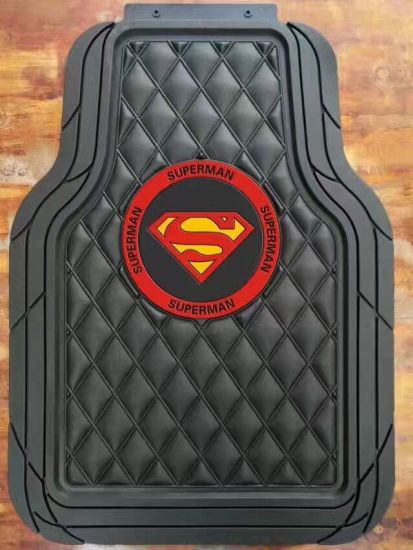 Superman Latex Car Floor Mat Pictures Photos