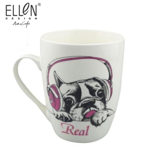 Promotional Animals Design 12oz Ceramic Coffee Mugs