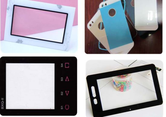 Screen Printing and CNC Display Protector /Glass/Lens