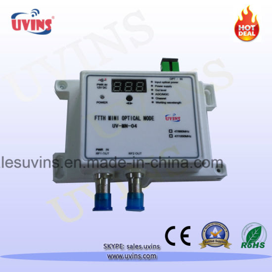 CATV FTTH Mini Optical Node Receiver with LED Display
