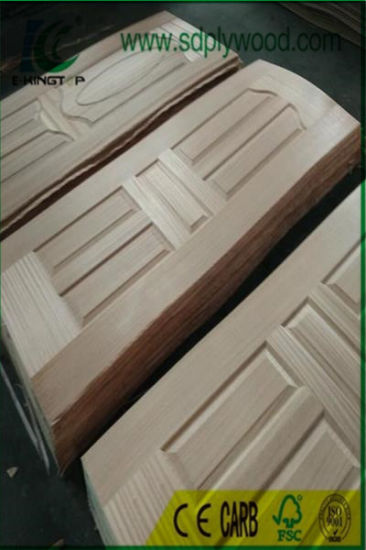 HDF Mould Door Skin Faced Veneer 3mm, 4mm Thickness pictures & photos