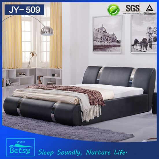 Modern Design Latest Double Bed Designs From China China Latest
