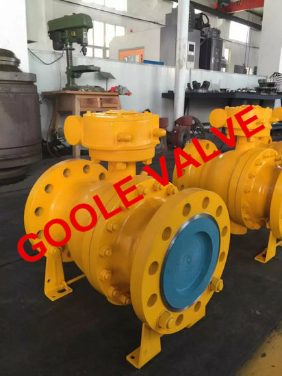 ANSI Trunnion Mounted Ball Valve (GAQ47F) pictures & photos
