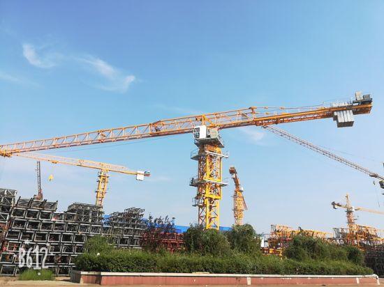 Dahan 6t Qtz80 (5512) Flat Top Tower Crane