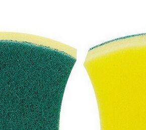Kitchen Sponge Scourer, Kitchen Cleaning Pads pictures & photos