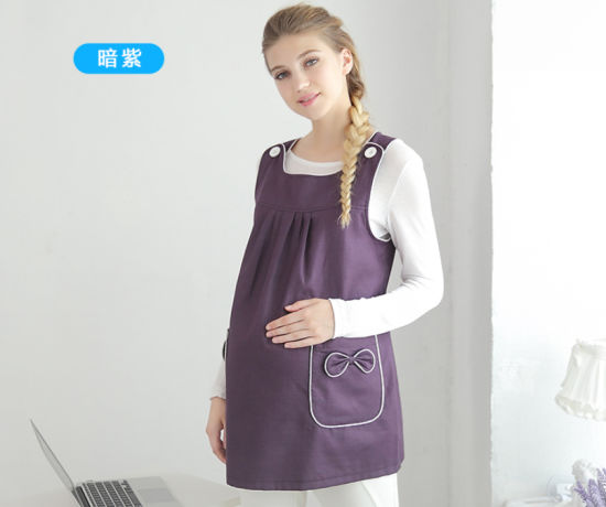 c18623d59d207 China Color Logo Customize Maternity Dresses with Anti-Radiation ...