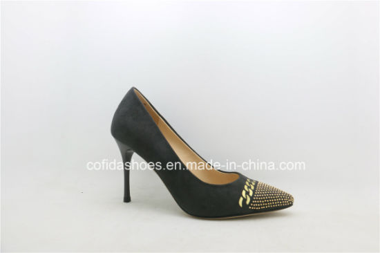 New Fashion High Heels Sexy Leather Women Shoe