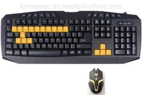 Multi Media Wireless Keyboard Mouse Set