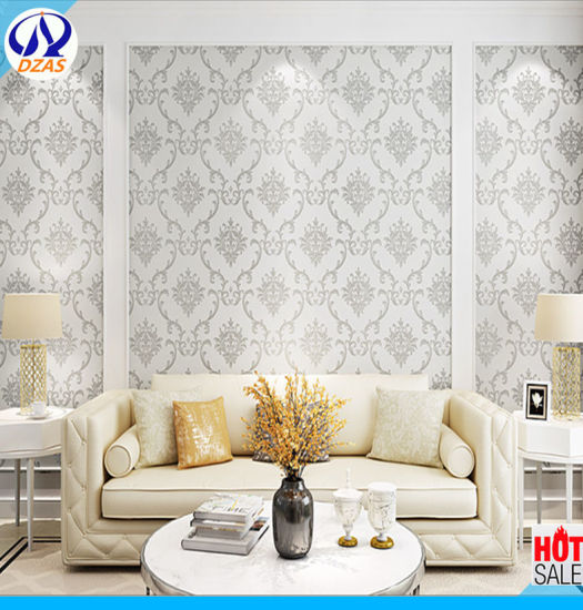China European Damascus Fine Pressure Non Woven Wallpaper