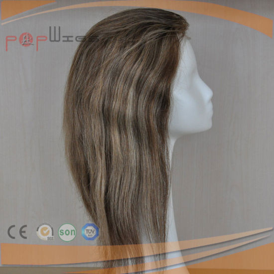 Fish Net Full Handtied Blonde Wig (PPG-l-01740) pictures & photos