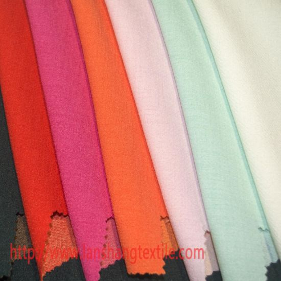 Clothing Garment Rayon Polyester Fabric for Shirt Garment Home Textile