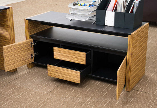 High Grade Modern Office Furniture Computer Desk (AT015A) pictures & photos