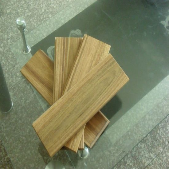 Natural Solid Spotted Gum Hardwood Flooring pictures & photos