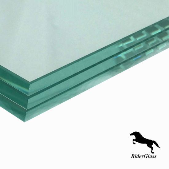 6.38mm Clear and Clear Laminated Glass