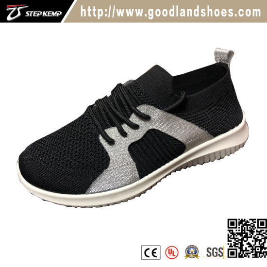 Fashion Flyknit Upper Injection Sports Shoes (EXI-9140)