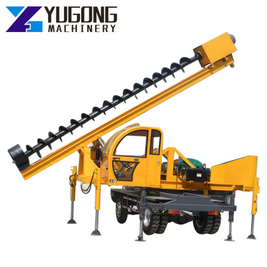 Small Piling Machine Hydraulic Vibrating Concrete Sheet Static Pile Driver