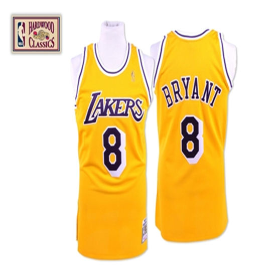 timeless design 4dd9a 42512 Los Angeles Lakers Kobe Bryant Cooperstown Throwback Turn-Back Basketball  Jerseys