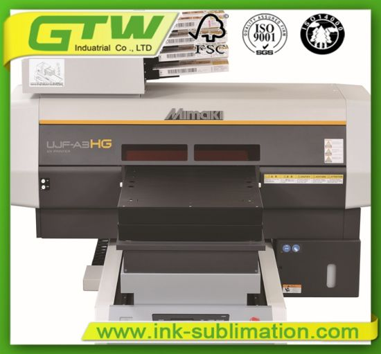China Mimaki Ujf-A3hg UV Flatbed Printer for High Speed Printing