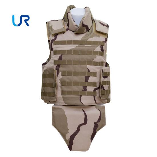 Nijiiia Level UHMWPE Full Body Military Bullet Proof Armor Vest Police Apparel