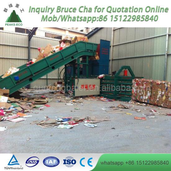 Direct Sale High Quality Hydraulic Scrap Straw Hay Packing Machine