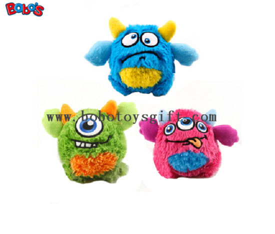 Wholesale Price Plush Monster Puppy Toy in Green Color with Squeaker Bosw1062/10cm pictures & photos