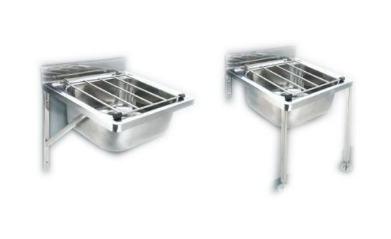 Wall Mounted Stainless Steel Janitorial Sink, Bucket Sink, Mop Sink,  Cleaner Sink  (A42)