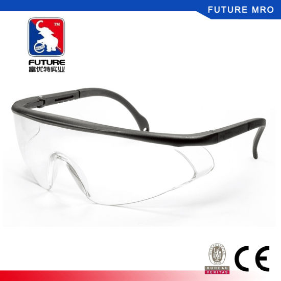 Scratch Resistent Safety Glasses with Side Shield Proof Design pictures & photos