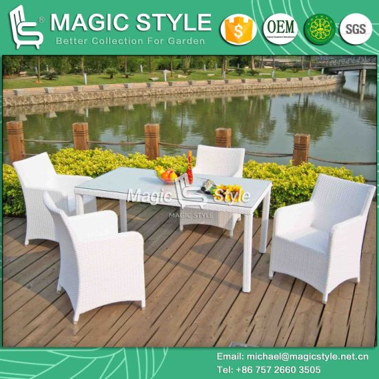 China Hot Sales Chair Garden Chair Rattan Dining Set Patio Chair