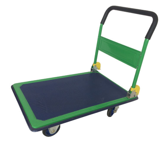 Heavy Duty with Good Price Warehouse Metal Platform Trolley