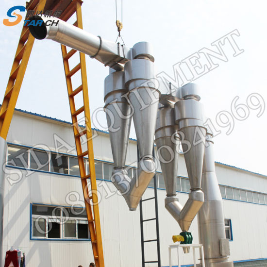 China Complete Automatic Cassava Processing Equipments