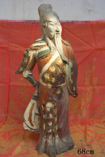 Chinese Antique Furniture Decoration Status-Guangong