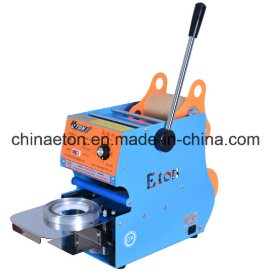 Eton Brand Manual Sealing Machine for Big Tea Cup Et-D6