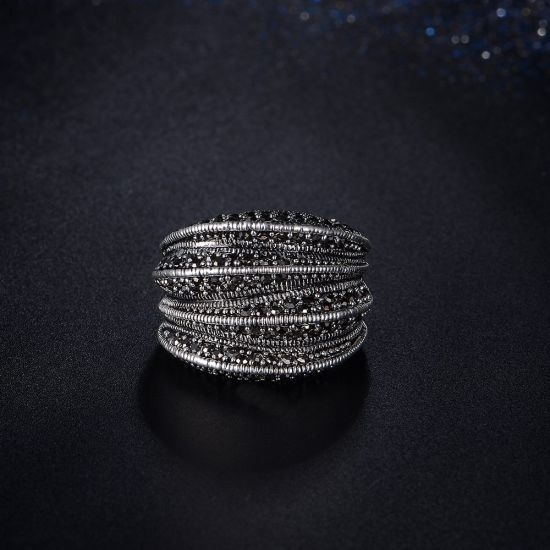 New Amazing Good Gift White Gold Stone Ring pictures & photos